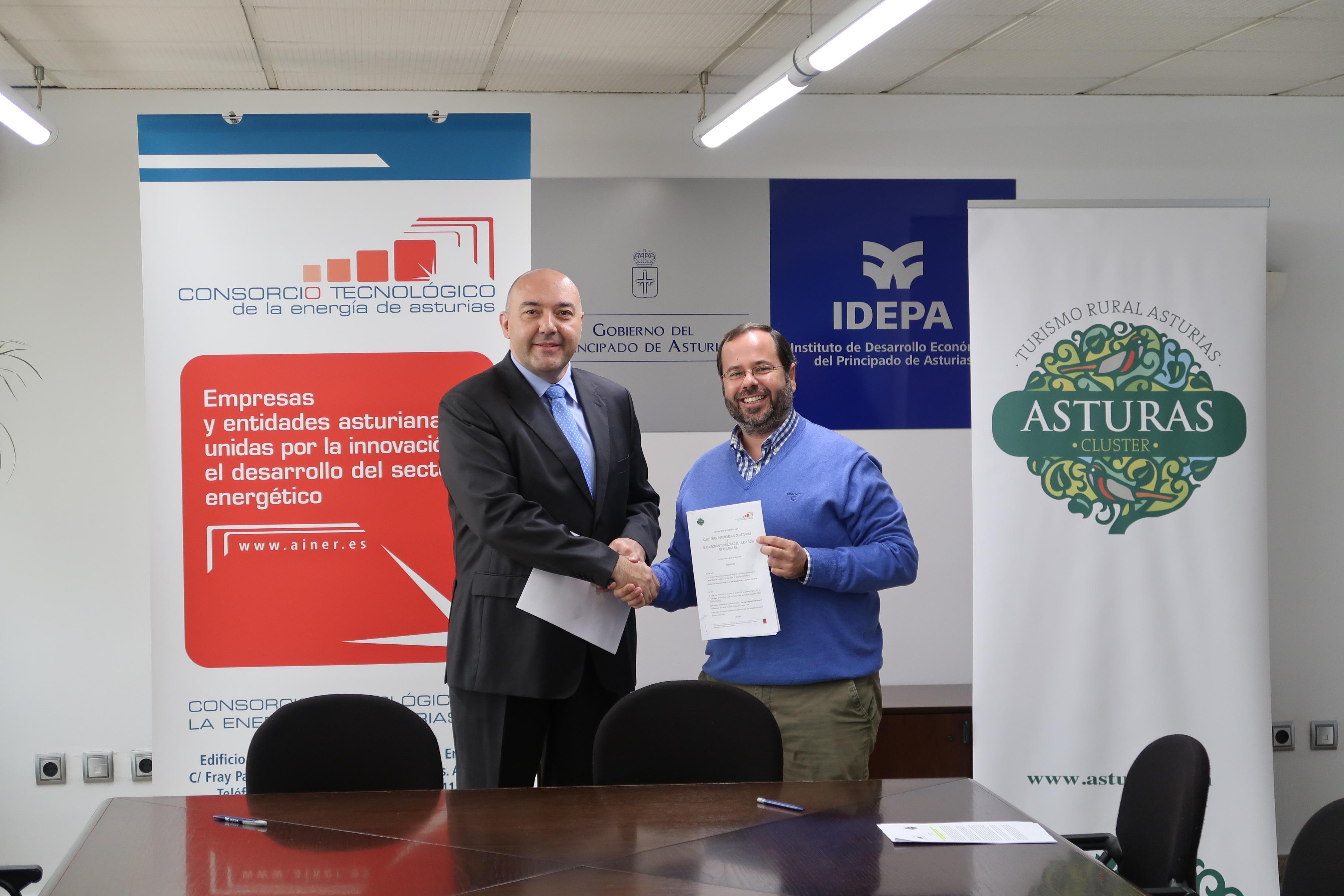 Firmado acuerdo de colaboración con el clúster de Energía