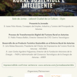 Jornada: Hacia un turismo rural sostenible e inteligente