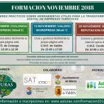 Formación para profesionales del turismo 2018-2019 - Formulario de inscripción: