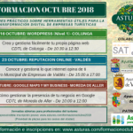 Jornadas de formación - Octubre 2018