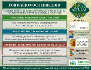 Jornadas de formación – Octubre 2018