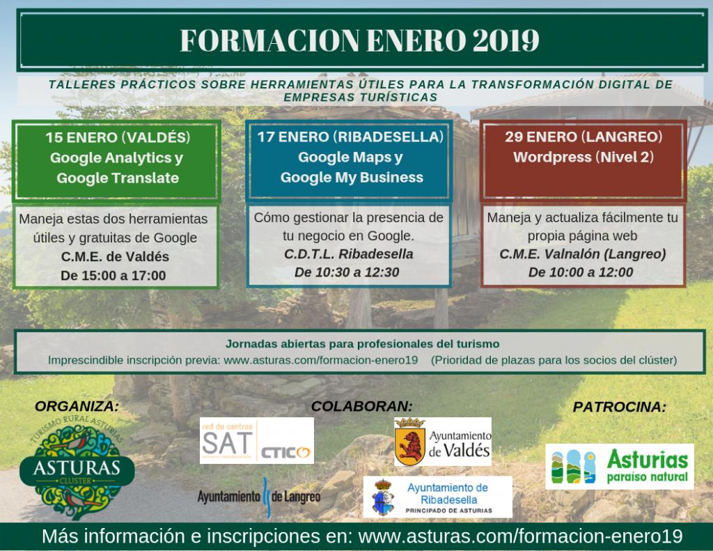 Jornadas de formación – Enero 2019