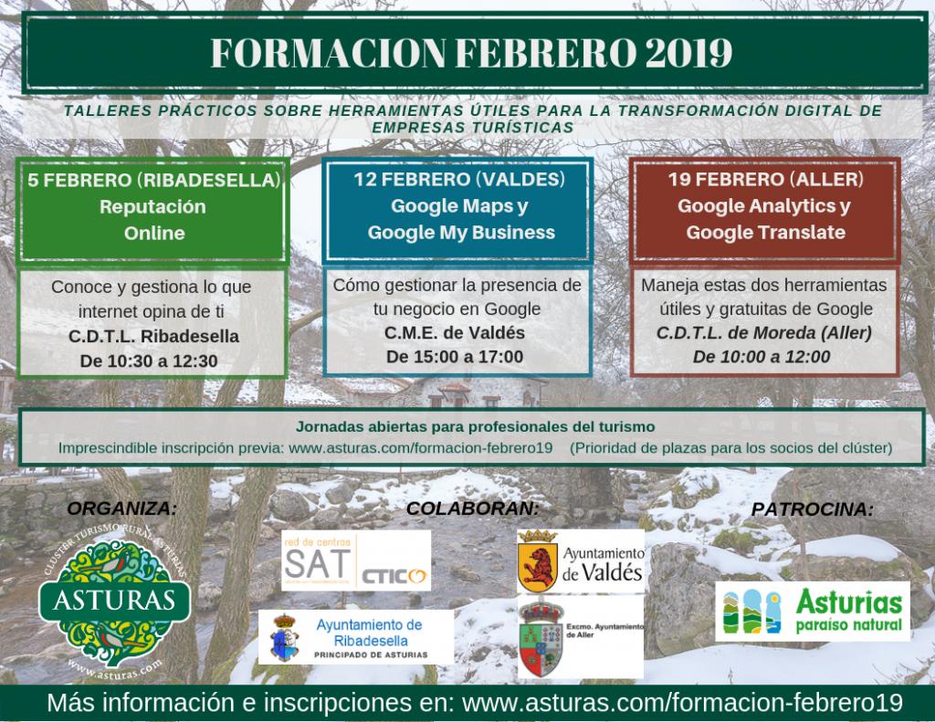 Jornadas de formación – Febrero 2019