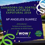 Ganadora del sorteo Wow Asturias - Expotural 2018
