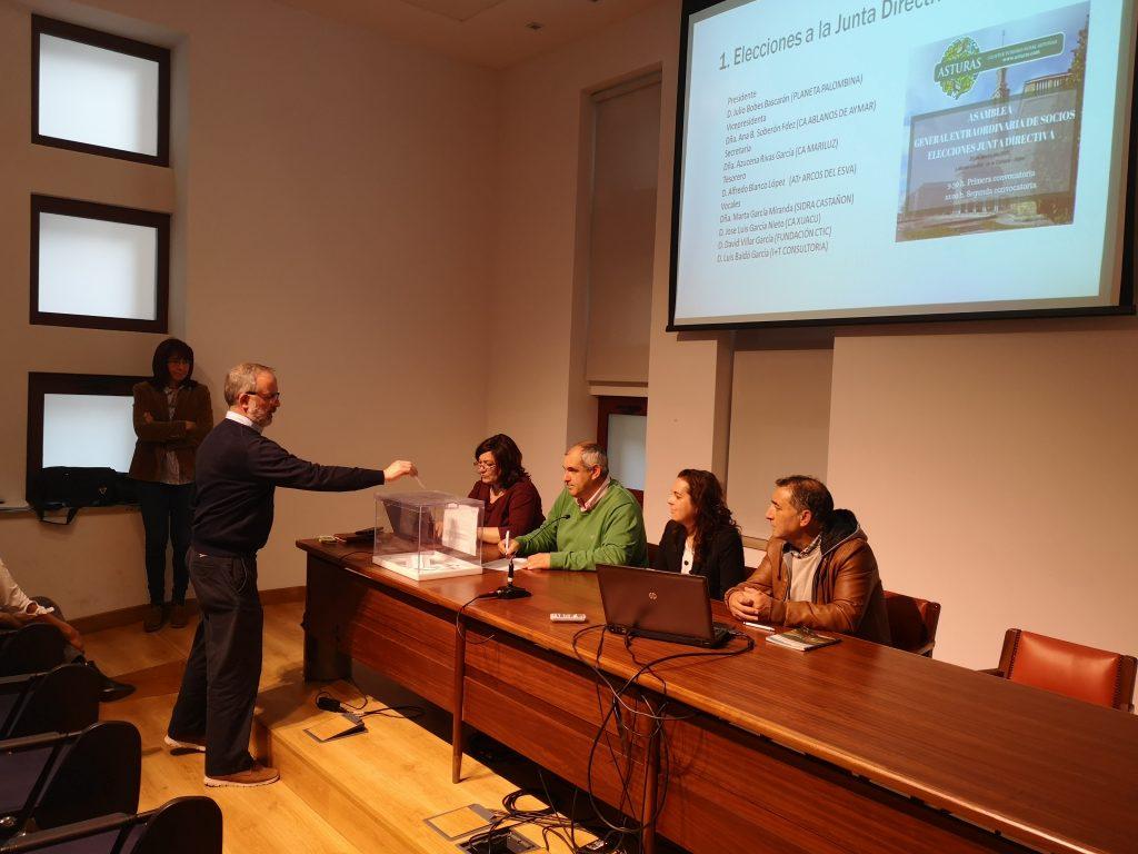 Elecciones junta directiva cluster de turismo rural de asturias
