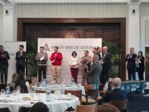 Entrega Premios Mejor Web de Asturias 2018 - El Comercio - Wow Asturias