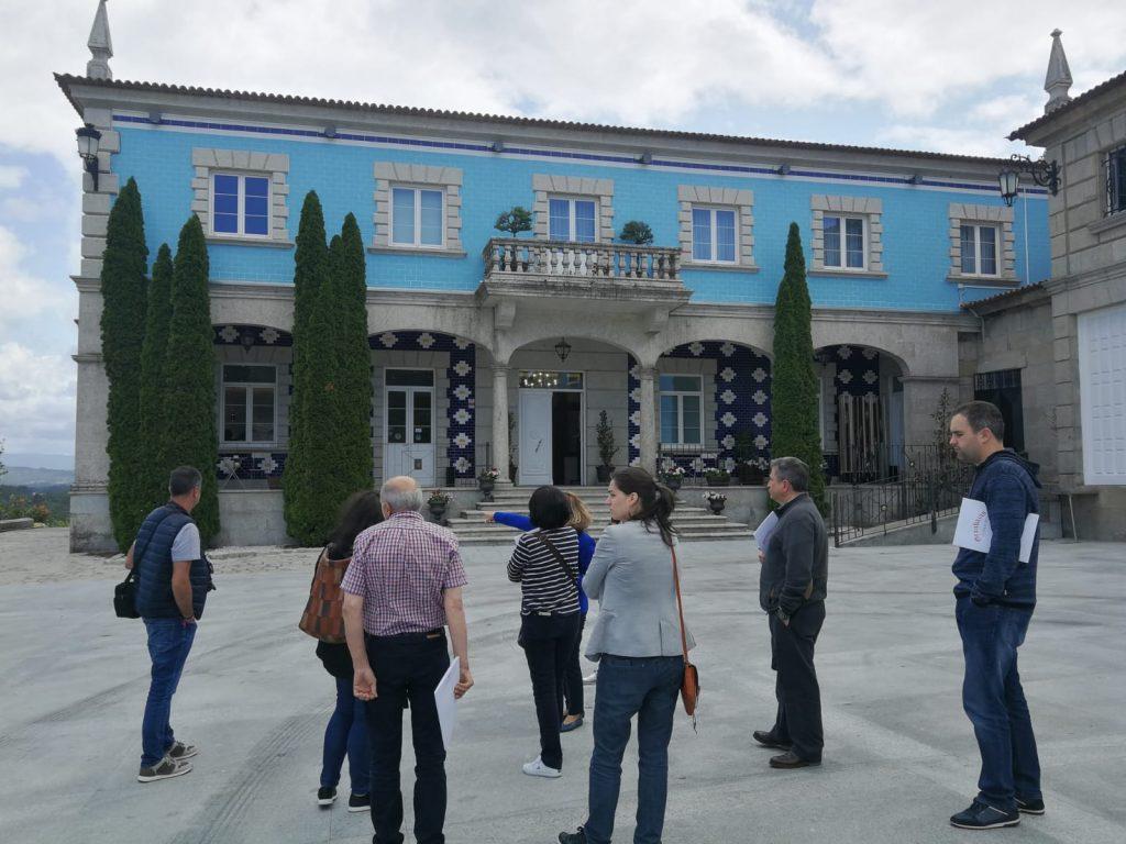 Visita a la Bodega Granbazán - Viaje de porespeccion grupo operativo sidraturismo