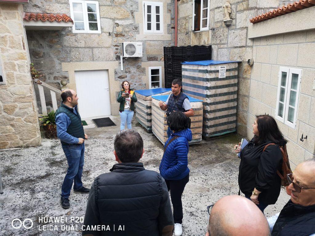 Visita a Sidra Peroja - Grupo operativo nuevas formas de comercialización de la sidra