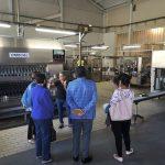 Visita a las instalaciones de sidra Castañon