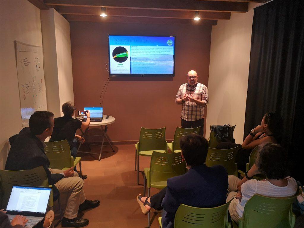 Presentacion proyectos del Cluster