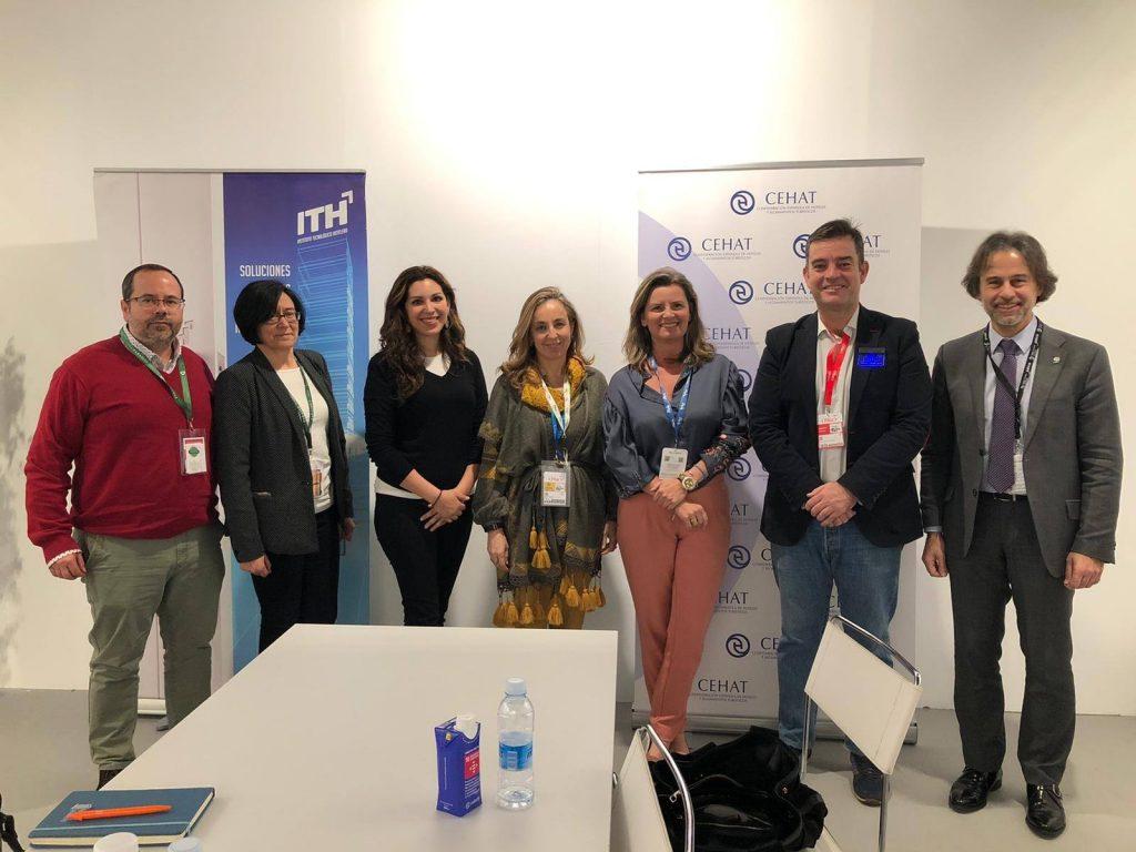 Reunion Interclusters de turismo en la Feria internacional de turismo de Madrid
