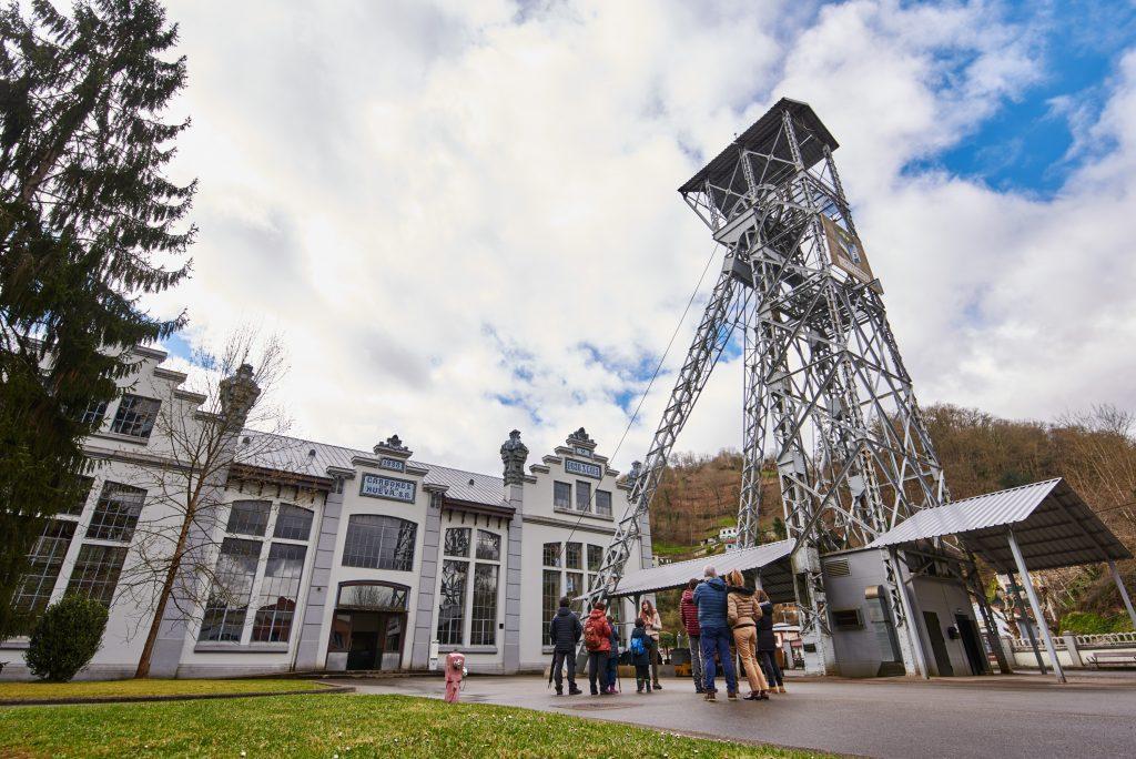 Imagen de las instalaciones del Ecomuseo Minero de Samuño