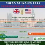 Comienza el curso de inglés organizado por el Clúster de turismo Rural de Asturias