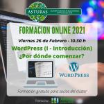 Formación para profesionales del turismo: WordPress (I)