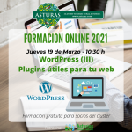 Formación para profesionales del turismo: WordPress III - Plugins