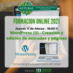 Formación para profesionales del turismo: WordPress II (Creación y edición de entradas y páginas)