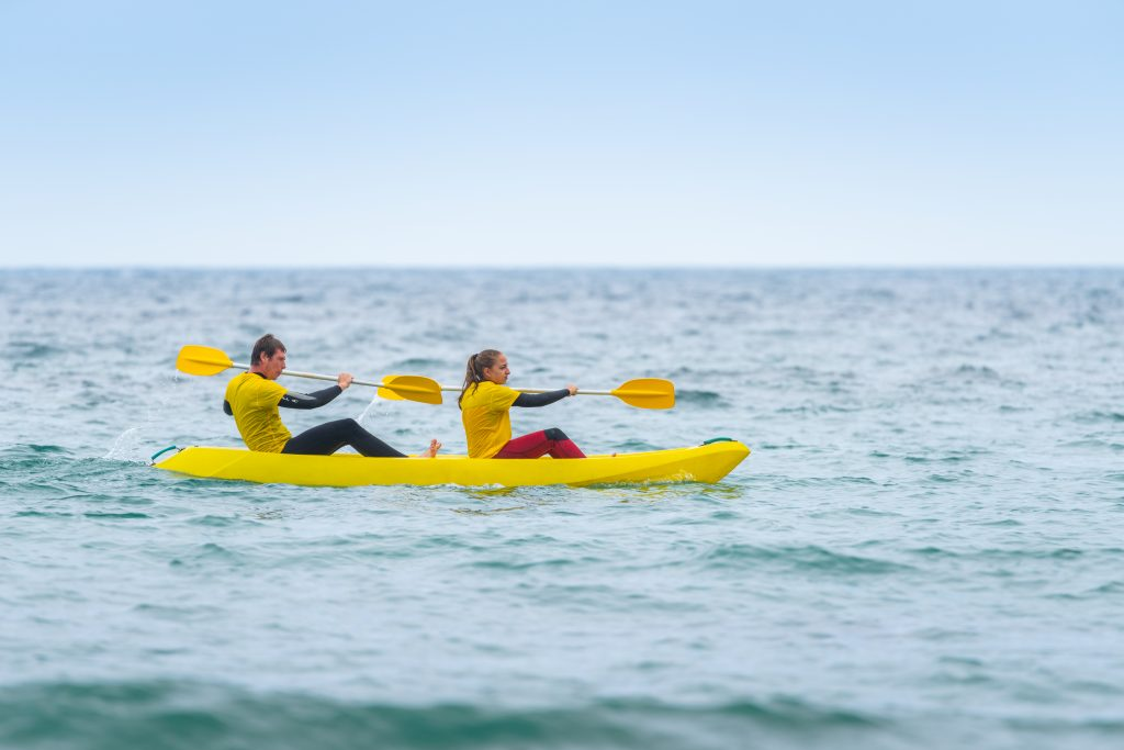 Kayak de Mar en Llanes